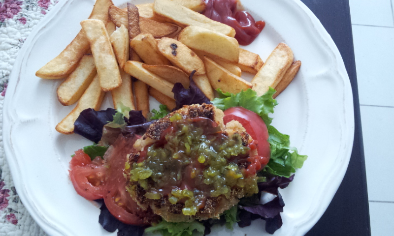 Reader Recipe: Vegan Burgers!