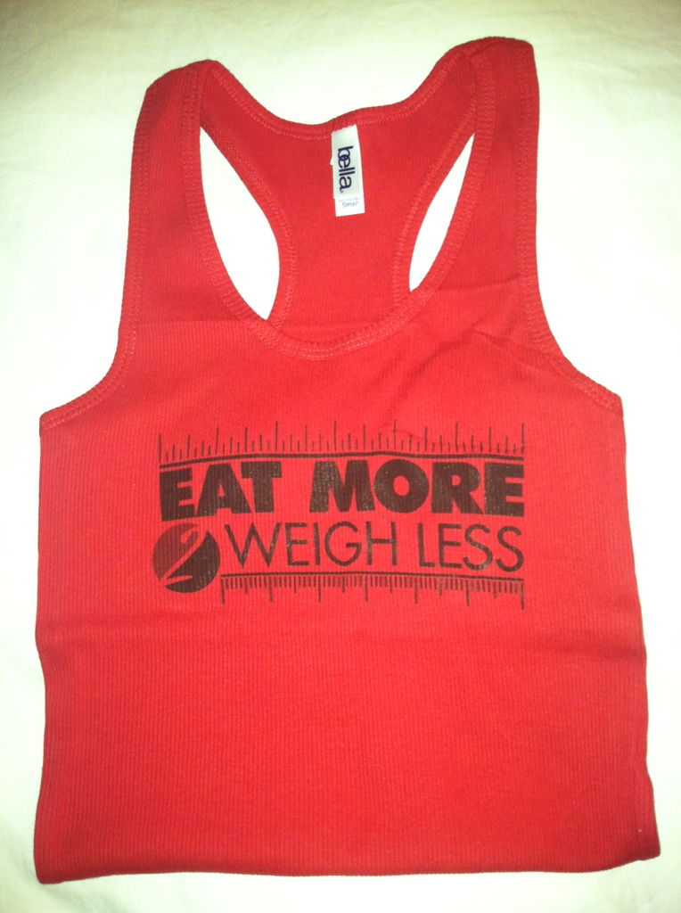And the Eat More 2 Weigh Less Contest Winner is….