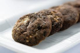Dark Chocolate Peanut Butter Protein Cookies