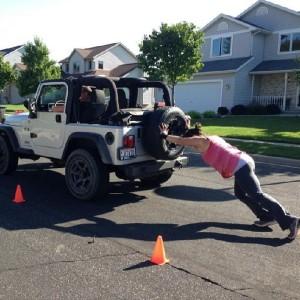 jeep push
