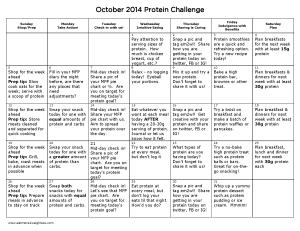 October 2014 Challenge