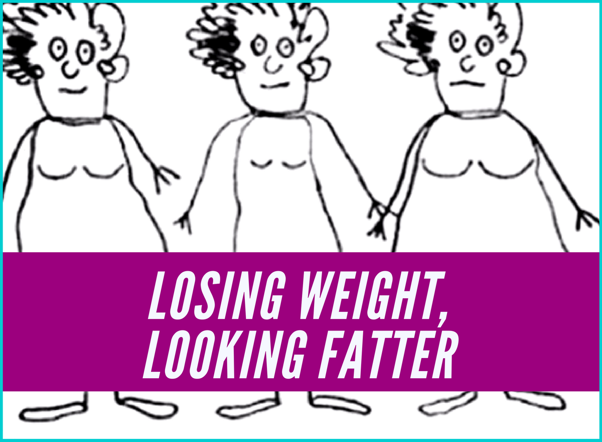 Losing Weight, Looking Fatter: Why each diet makes it worse