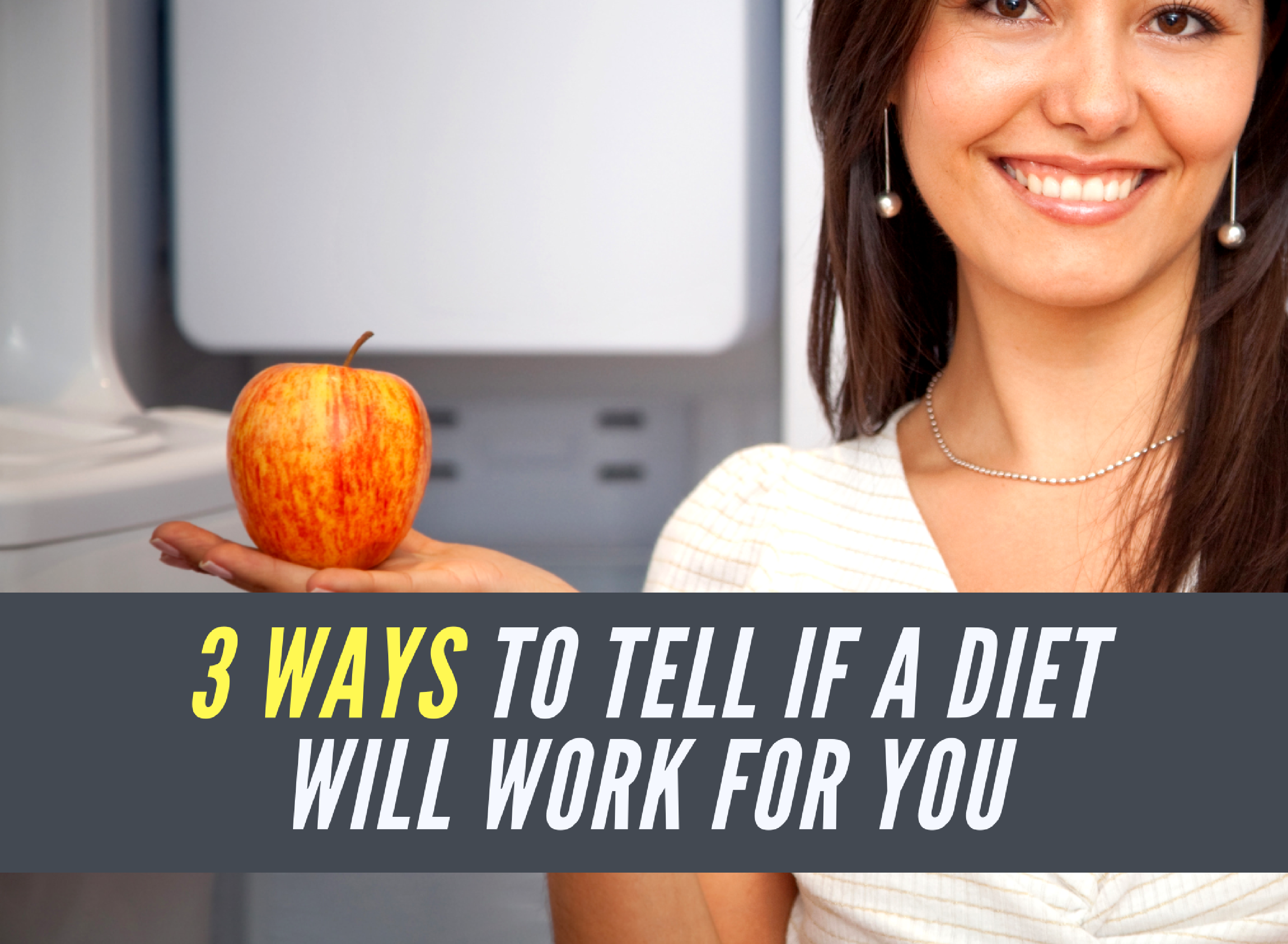 3 Ways to Tell if a Diet Will Work for YOU