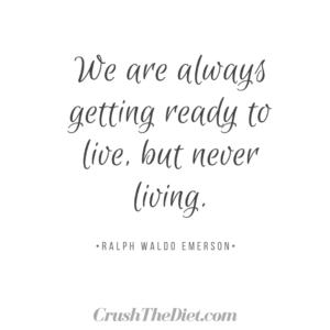 never living