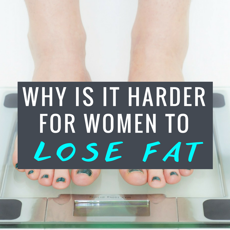 Why it's HARDER for women to lose weight