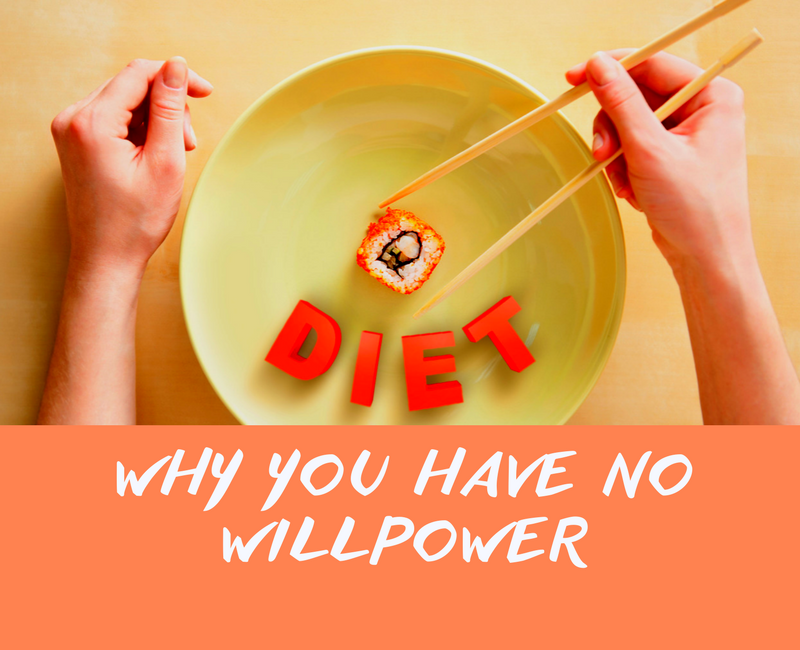Why you have no willpower