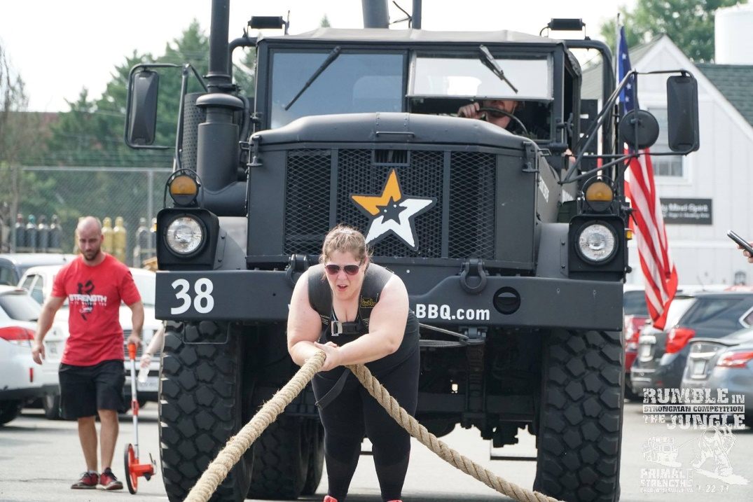 Guest Post – Leigh Anne's Strongman Competition