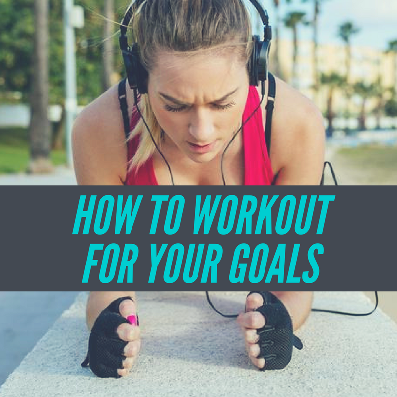 Working out for your goals