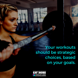 Working out for your goals SocialMediaGraph