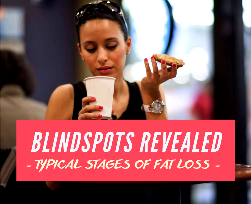 Blindspots Revealed: The typical stages of fat loss