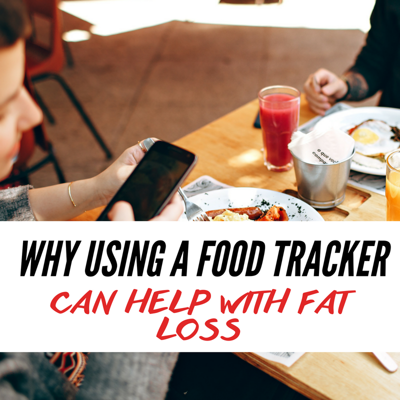 Why using a food tracker can help with fat loss