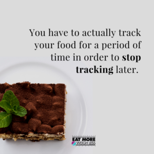 Why using a food tracker for fat loss can help you acheive your goals